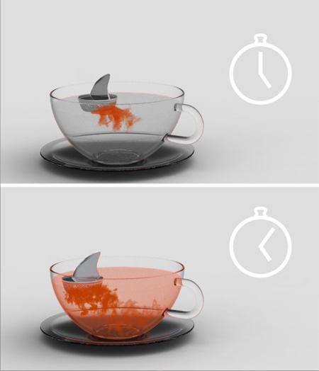Sharky Tea Infuser by Pablo Matteoda 2