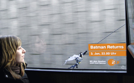 Batman Returns with ZDF Batbus Ad Campaign 3
