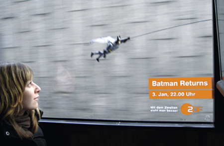 Batman Returns with ZDF Batbus Ad Campaign 4