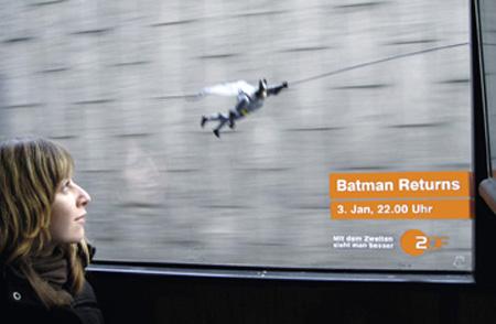 Batman Returns with ZDF Batbus Ad Campaign 4