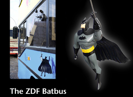 Batman Returns with ZDF Batbus Ad Campaign 5