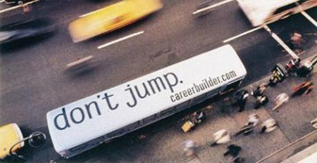 CareerBuilder Bus Advertisement