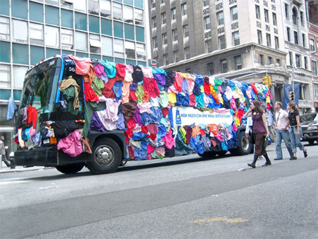 All Laundry Detergent Bus Advertisement