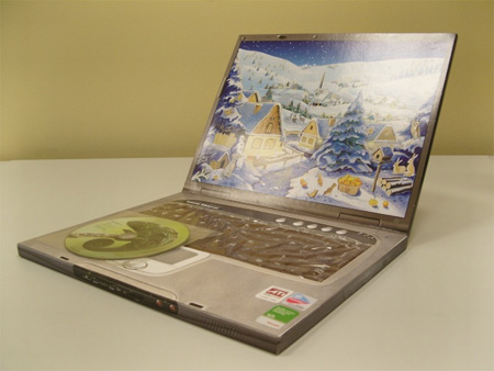 Chocolate Laptop