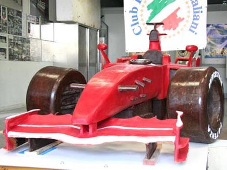 Chocolate Ferrari Formula 1 Car