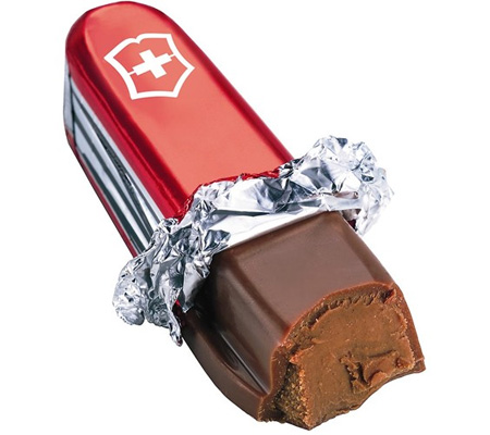 Chocolate Swiss Knife