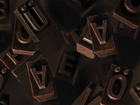 Chocolate Typeface 2