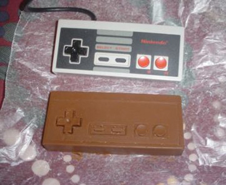 Chocolate NES Controller