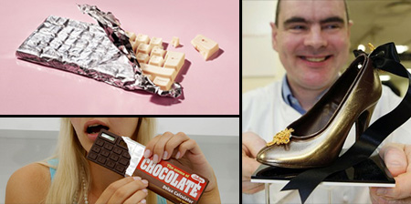 Gadgets and Designs made from Chocolate