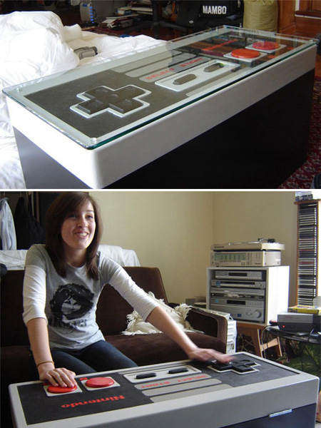 NES Controller Table