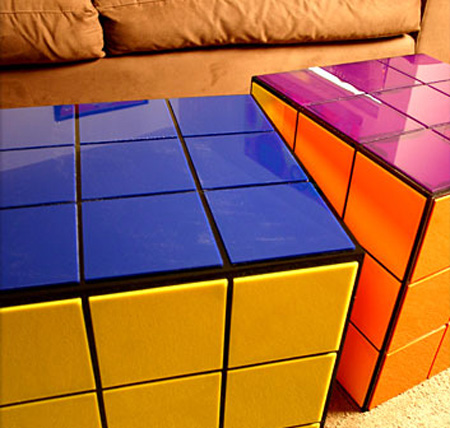 Rubiks Cube Coffee Table