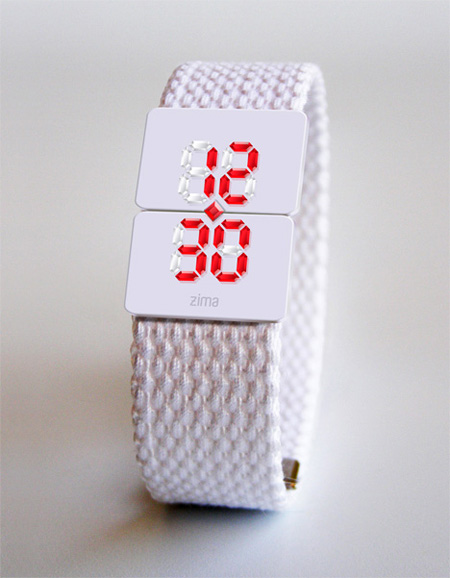 Real Crystal LED Watch