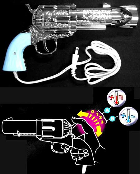 Gun Hairdryer