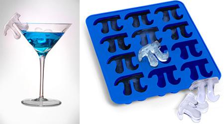 Pi Symbol Ice Cube Tray