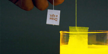 Lighting Tea Bag