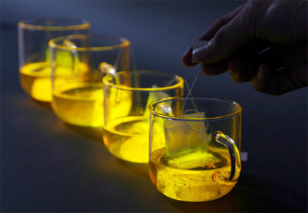 Lighting Tea Bag by Wonsik Chae 2