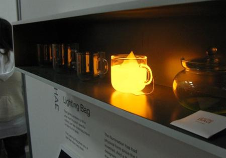 Lighting Tea Bag by Wonsik Chae 6