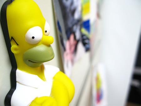 Homer Simpson Magnet