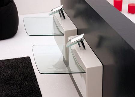 Crystal Wall Sink