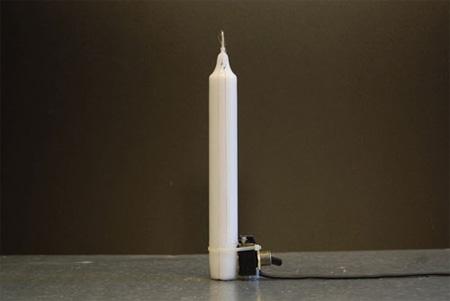 ON Candle by Aram Bartholl