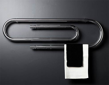 Paper Clip Shaped Heaters