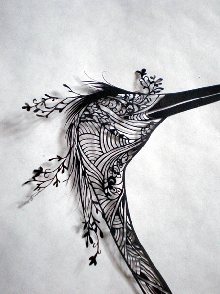 beautiful and creative art of paper cutting