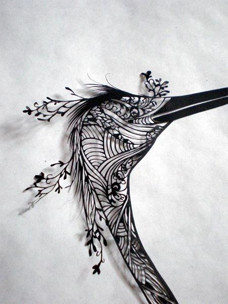 Paper Cutting Art by Aoyama Hina 3