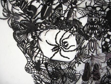 Paper Cutting Art by Kako Ueda 2