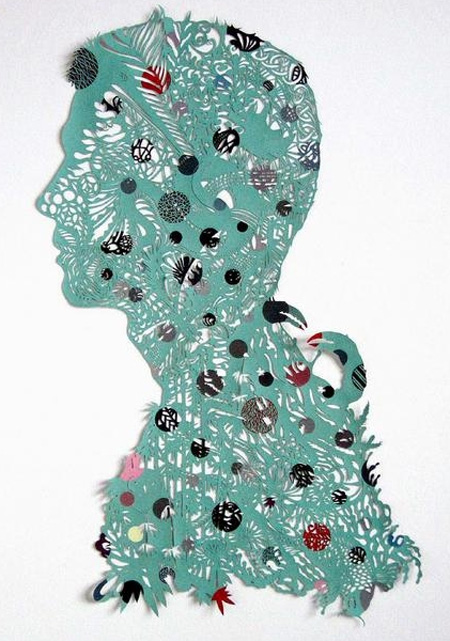 Paper Cutting Art by Kako Ueda 3