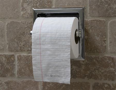 School of Visual Arts Toilet Paper