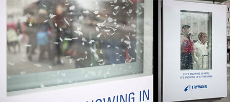 Tryvann Snowing Billboards Invade Norway
