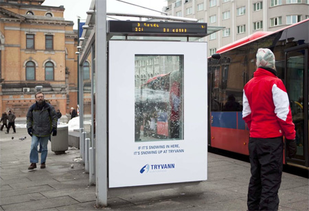 Tryvann Winter Park Snowing Billboards Invade Norway