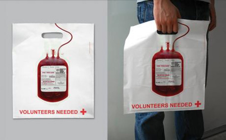 Red Cross Shopping Bag