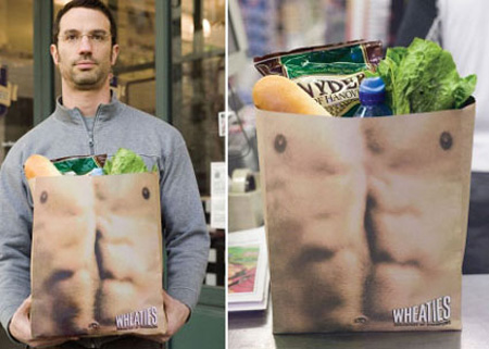 Wheaties Shopping Bag