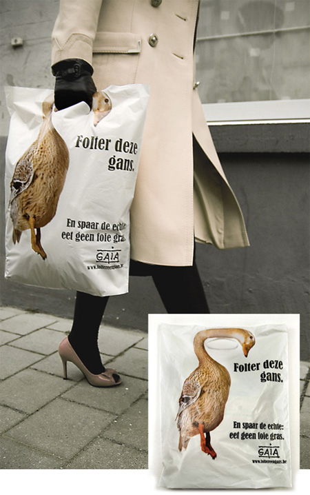 Gaia Animal Rights Shopping Bag
