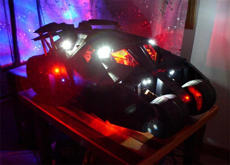 Tumbler Batmobile PC Case Mod