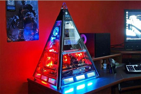 The Great Pyramid PC Case Mod