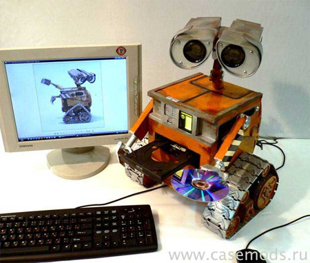 Wall-E PC Case Mod