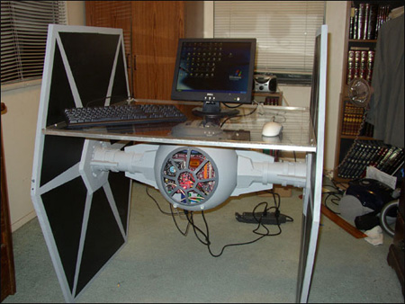Star Wars TIE Fighter PC Case Mod
