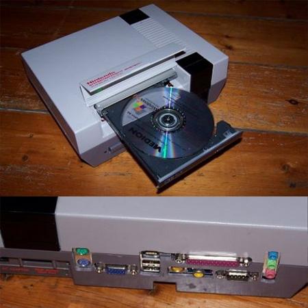 NES Console PC Case Mod