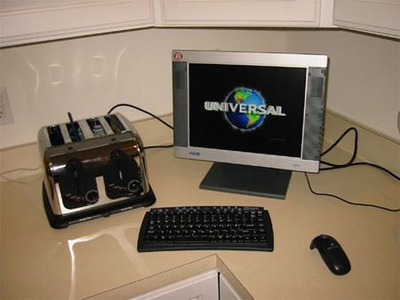 Toaster PC Case Mod
