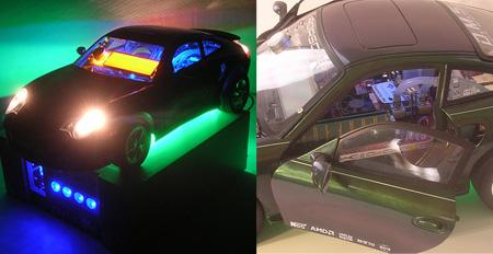 Model Porsche PC Case Mod