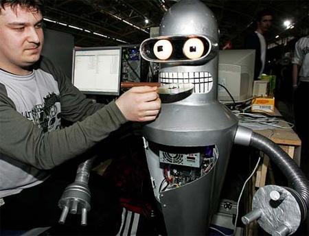 Bender PC Case Mod