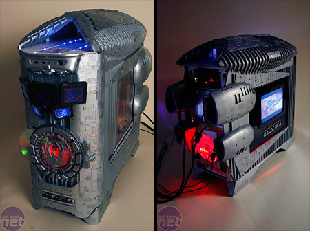 Battlestar Galactica PC Case Mod