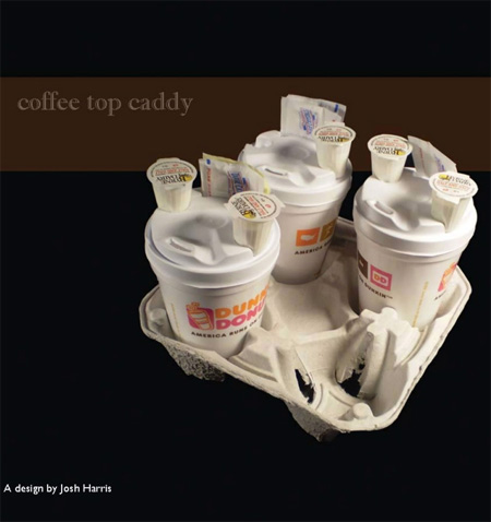 Coffee Top Caddy by Josh Harris