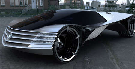 Cadillac world thorium fuel concept car