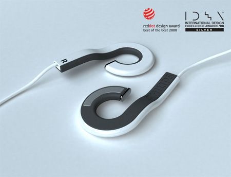 Holeder Earphones by Yoonsang Kim