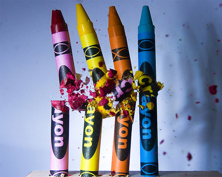 Last Crayon Standing by Alan Sailer