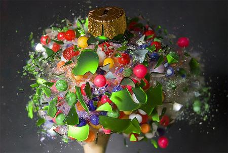 Sugar Balls and Globe by Alan Sailer