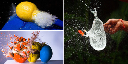 Beautiful and Creative High Speed Photography